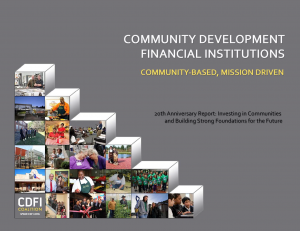 2013 CDFI Coalition 20th Anniversary Report
